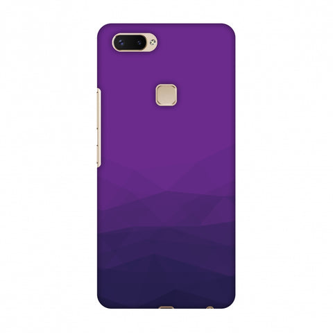 Polygon Fun 4 Slim Hard Shell Case For Vivo X20 Plus