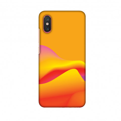 Pink Gradient Slim Hard Shell Case For Xiaomi Mi 8 Pro