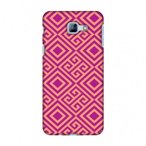 Falling Squares Slim Hard Shell Case For Samsung Galaxy A8 2016