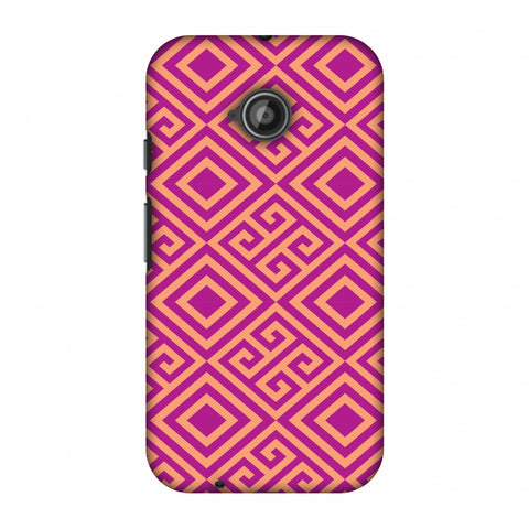 Falling Squares Slim Hard Shell Case For Motorola Moto E 2nd Gen