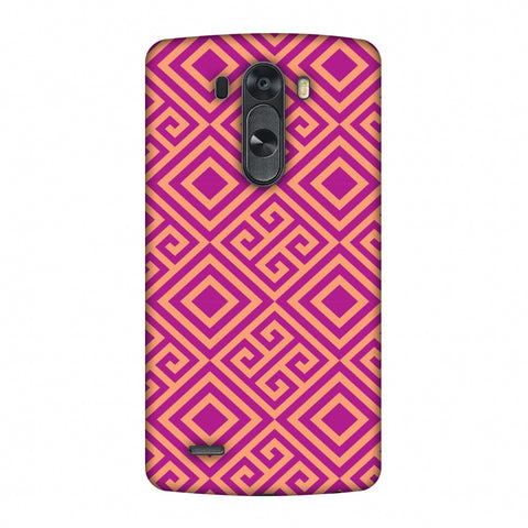 Falling Squares Slim Hard Shell Case For LG G4