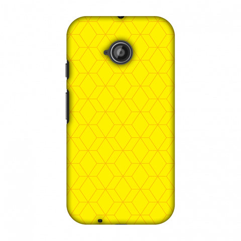 Hexamaze 1 Slim Hard Shell Case For Motorola Moto E 2nd Gen