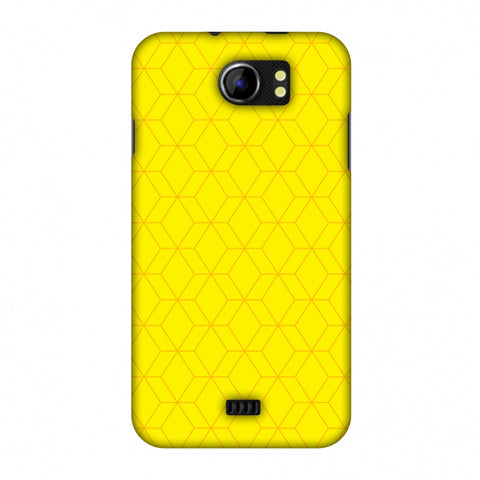 Hexamaze 1 Slim Hard Shell Case For Micromax Canvas 2 A110