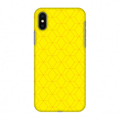 Hexamaze 1 Slim Hard Shell Case For Apple iPhone X