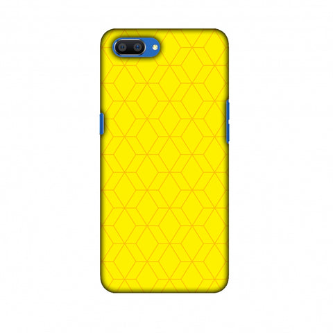 Hexamaze 1 Slim Hard Shell Case For Oppo Realme C1
