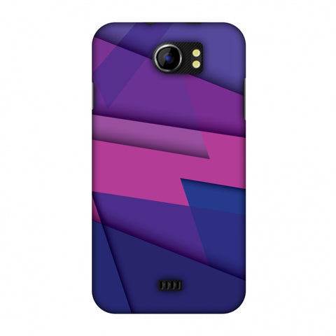 Intersections 2 Slim Hard Shell Case For Micromax Canvas 2 A110