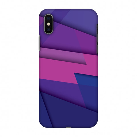 Intersections 2 Slim Hard Shell Case For Apple iPhone X