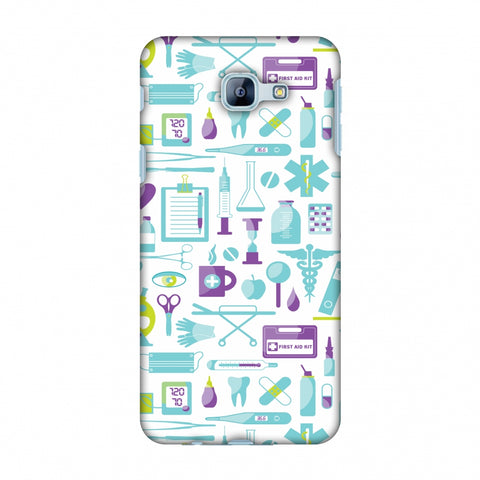 Doctor Pattern 1 Slim Hard Shell Case For Samsung Galaxy A8 2016