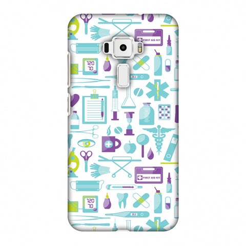 Doctor Pattern 1 Slim Hard Shell Case For Asus Zenfone 3 ZE520KL