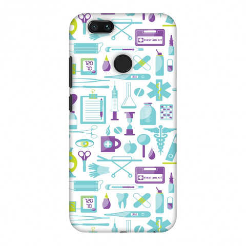 Doctor Pattern 1 Slim Hard Shell Case For Xiaomi MI A1-5X