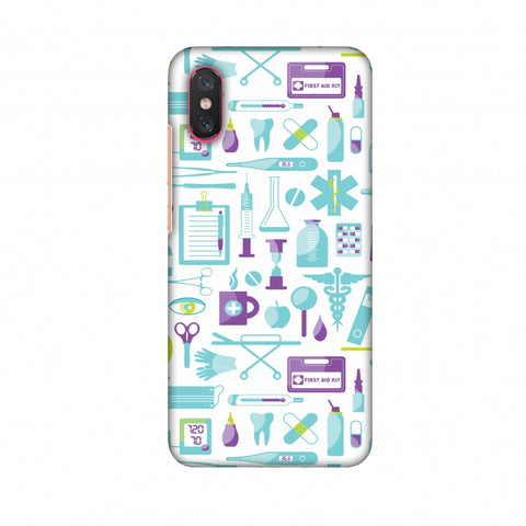 Doctor Pattern 1 Slim Hard Shell Case For Xiaomi Mi 8 Pro