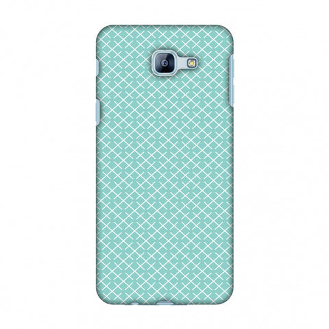 CheckeRed In Pastel Slim Hard Shell Case For Samsung Galaxy A8 2016