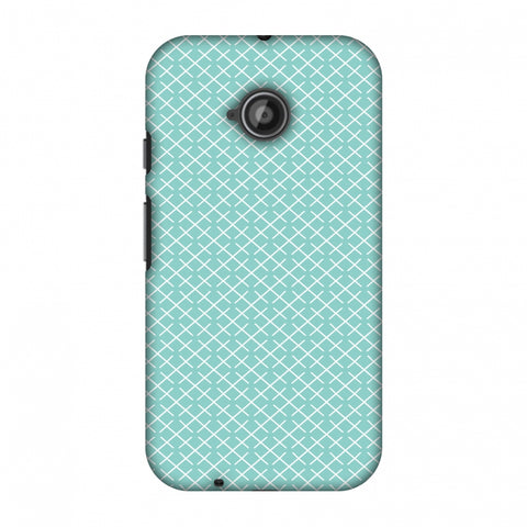 CheckeRed In Pastel Slim Hard Shell Case For Motorola Moto E 2nd Gen