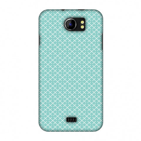 CheckeRed In Pastel Slim Hard Shell Case For Micromax Canvas 2 A110