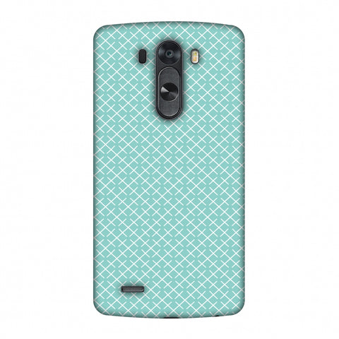 CheckeRed In Pastel Slim Hard Shell Case For LG G4