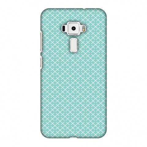CheckeRed In Pastel Slim Hard Shell Case For Asus Zenfone 3 ZE520KL