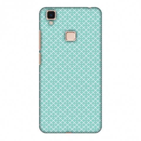 CheckeRed In Pastel Slim Hard Shell Case For Vivo V3 Max