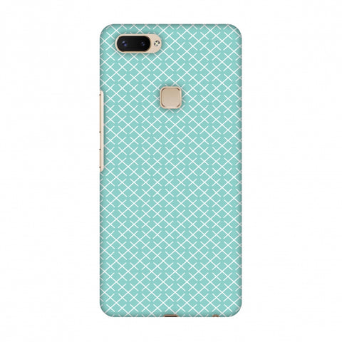 CheckeRed In Pastel Slim Hard Shell Case For Vivo X20 Plus