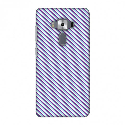 CheckeRed In Purple Slim Hard Shell Case For Asus Zenfone 3 Deluxe ZS570KL
