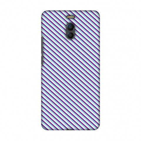 CheckeRed In Purple Slim Hard Shell Case For Meizu Note 6