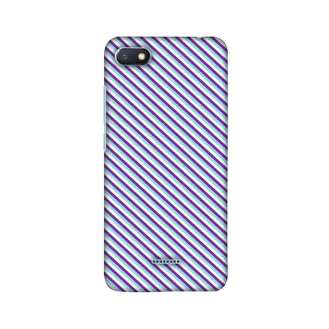 CheckeRed In Purple Slim Hard Shell Case For Xiaomi Redmi 6A