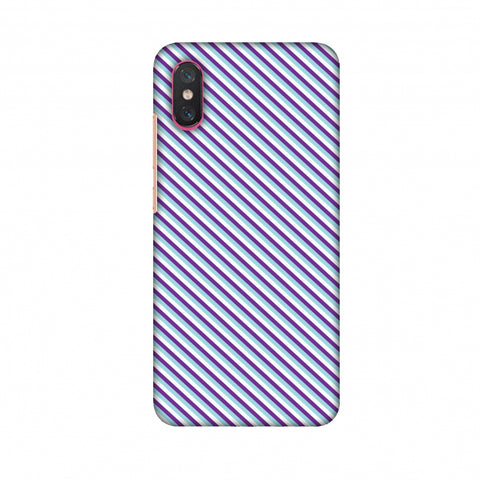 CheckeRed In Purple Slim Hard Shell Case For Xiaomi Mi 8 Pro