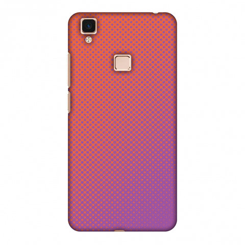 Vintage Dot Pop 1 Slim Hard Shell Case For Vivo V3 Max