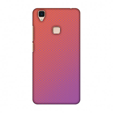 Vintage Dot Pop 1 Slim Hard Shell Case For Vivo V3