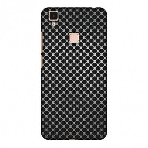 Vintage Dot Pop 3 Slim Hard Shell Case For Vivo V3 Max