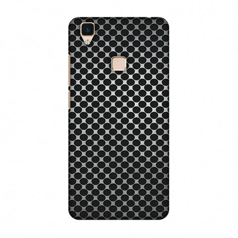 Vintage Dot Pop 3 Slim Hard Shell Case For Vivo V3