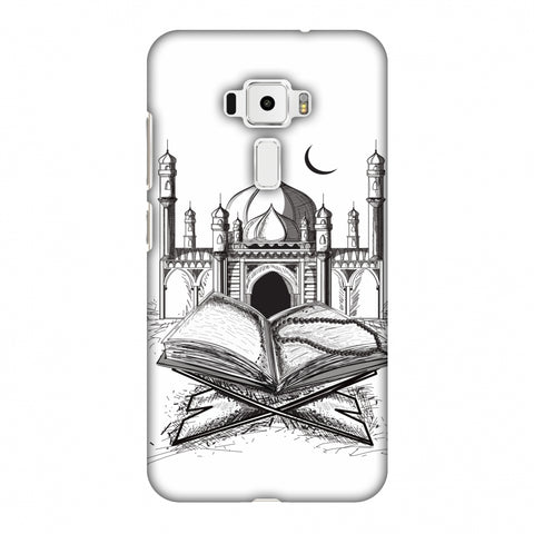 Quran Slim Hard Shell Case For Asus Zenfone 3 ZE520KL