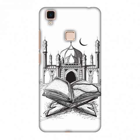 Quran Slim Hard Shell Case For Vivo V3 Max