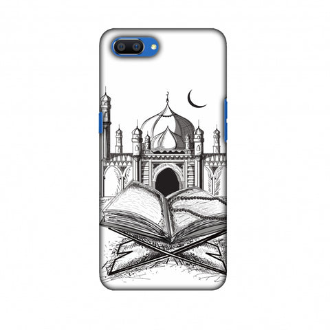 Quran Slim Hard Shell Case For Oppo Realme C1