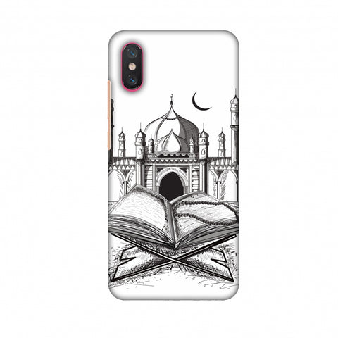 Quran Slim Hard Shell Case For Xiaomi Mi 8 Pro