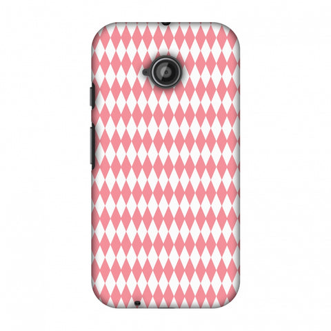 Fishtail Pattern Slim Hard Shell Case For Motorola Moto E 2nd Gen