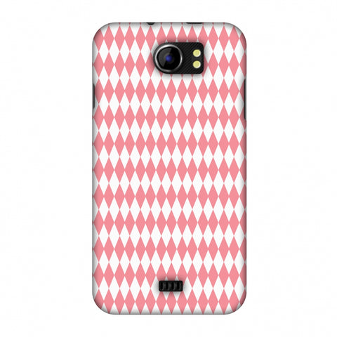 Fishtail Pattern Slim Hard Shell Case For Micromax Canvas 2 A110