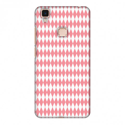 Fishtail Pattern Slim Hard Shell Case For Vivo V3 Max