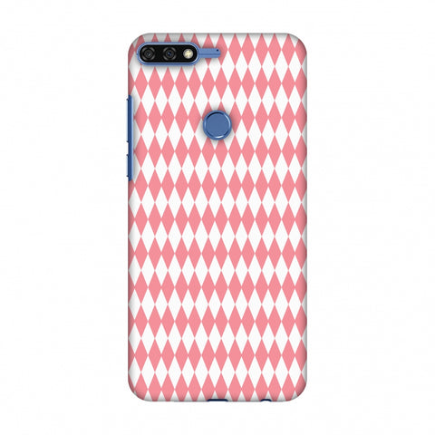 Fishtail Pattern Slim Hard Shell Case For Huawei Honor 7C