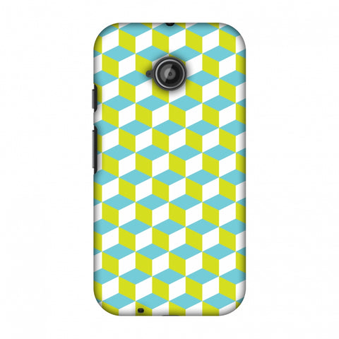Hexamaze 2 Slim Hard Shell Case For Motorola Moto E 2nd Gen
