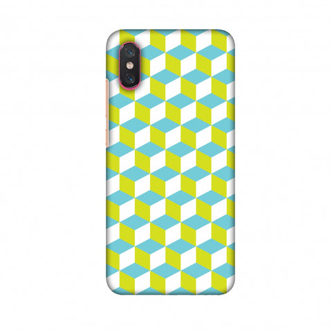 Hexamaze 2 Slim Hard Shell Case For Xiaomi Mi 8 Pro
