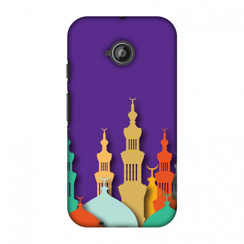 Places Of Worship 2 Slim Hard Shell Case For Motorola Moto E 2nd Gen