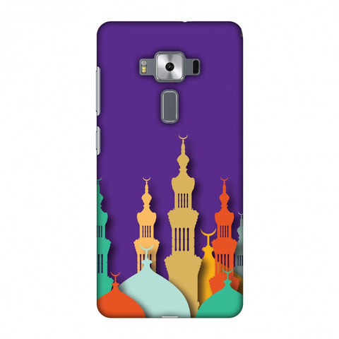 Places Of Worship 2 Slim Hard Shell Case For Asus Zenfone 3 Deluxe ZS570KL