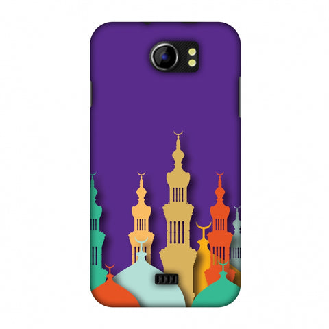 Places Of Worship 2 Slim Hard Shell Case For Micromax Canvas 2 A110