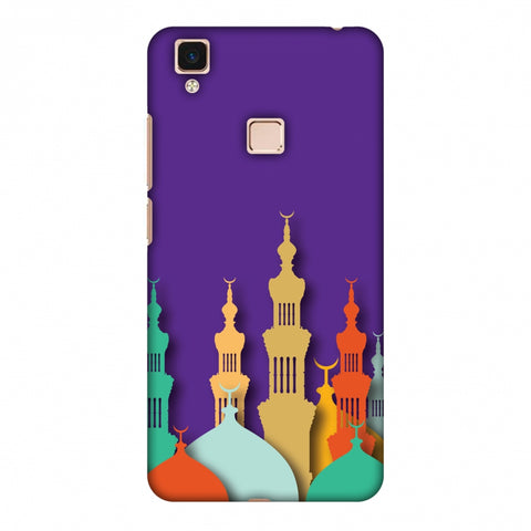 Places Of Worship 2 Slim Hard Shell Case For Vivo V3 Max