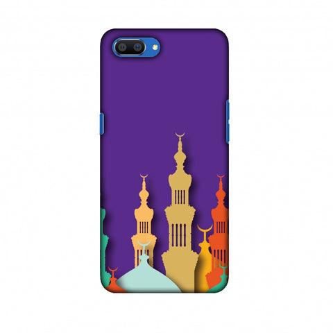 Places Of Worship 2 Slim Hard Shell Case For Oppo Realme C1