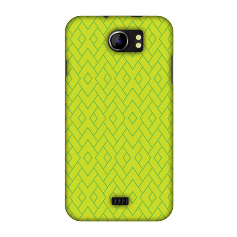 Intersections 7 Slim Hard Shell Case For Micromax Canvas 2 A110