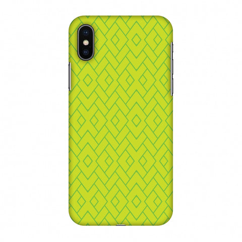 Intersections 7 Slim Hard Shell Case For Apple iPhone X