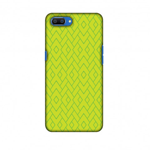Intersections 7 Slim Hard Shell Case For Oppo Realme C1