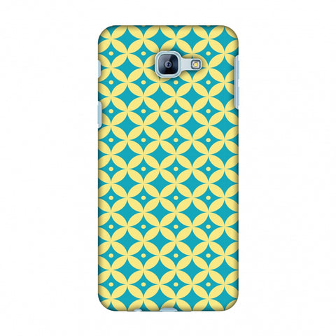 Overlapped Circles 2 Slim Hard Shell Case For Samsung Galaxy A8 2016