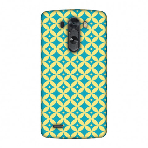Overlapped Circles 2 Slim Hard Shell Case For LG G4